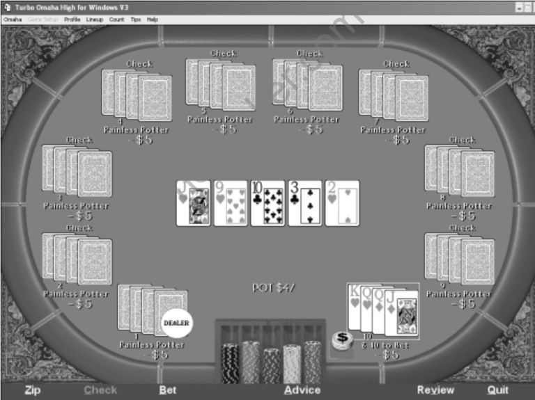 Playing the River in Omaha High: Playing When You Have a Strong Hand
