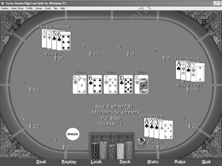 Playing the River in Omaha High-Low